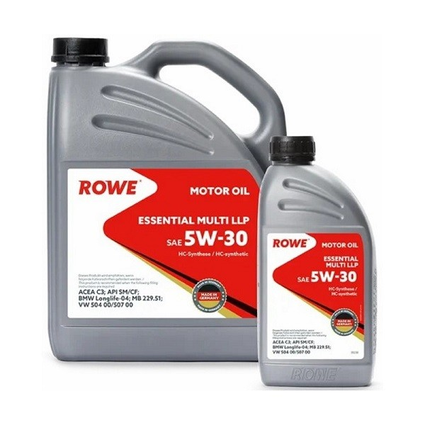 ROWE ESSENTIAL MULTI LLP 5w-30 4L+1I